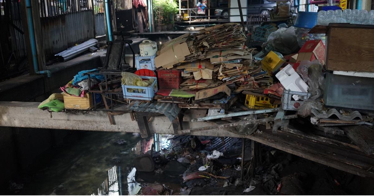 タイ-ゴミ処理