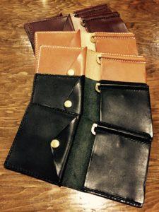 俺の財布、ハンドメイド、革