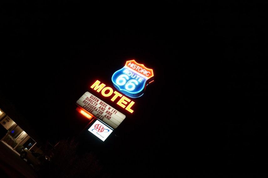 アメリカ、LA、モーテル