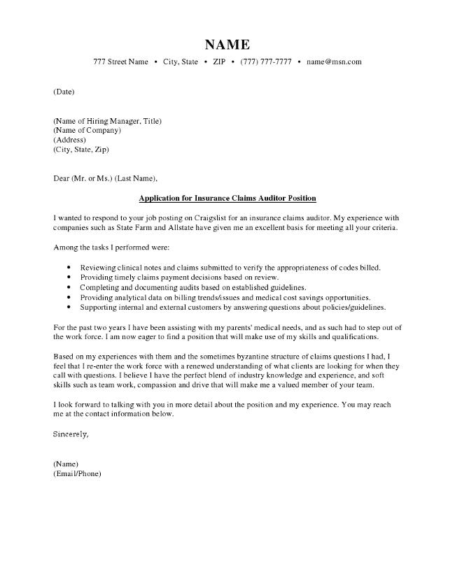 Insurance Claim Letter Samples from i2.wp.com