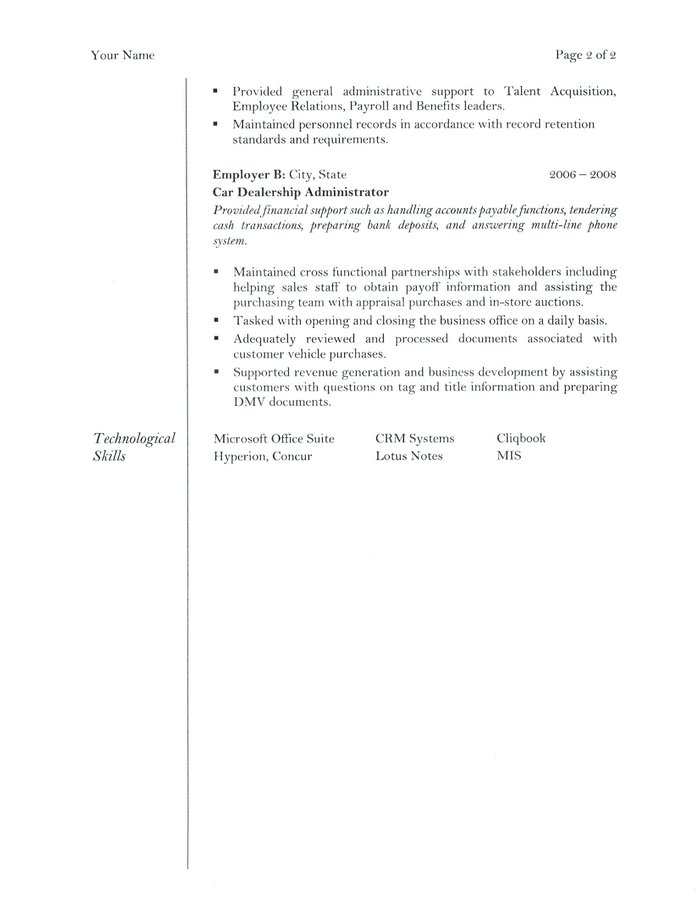 Office Assistant Resume