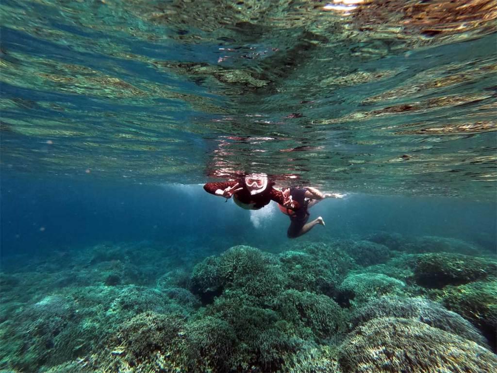 Snorkeling in Pescador Island, Cebu