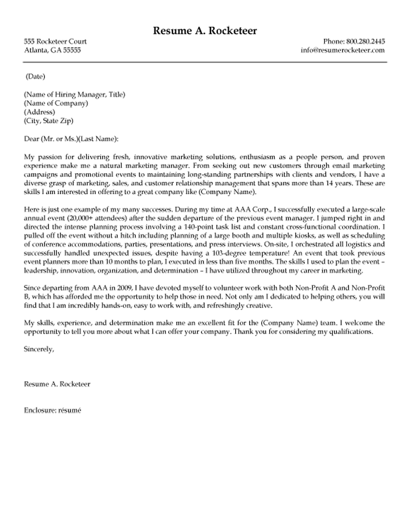 Athletic director cover letter examples