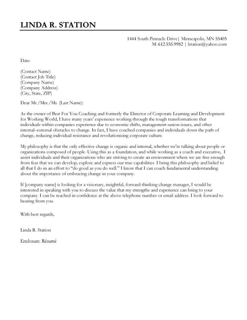 provider child care cover letter child care