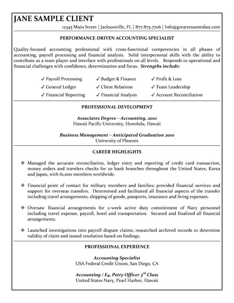 accounting student resume samples template