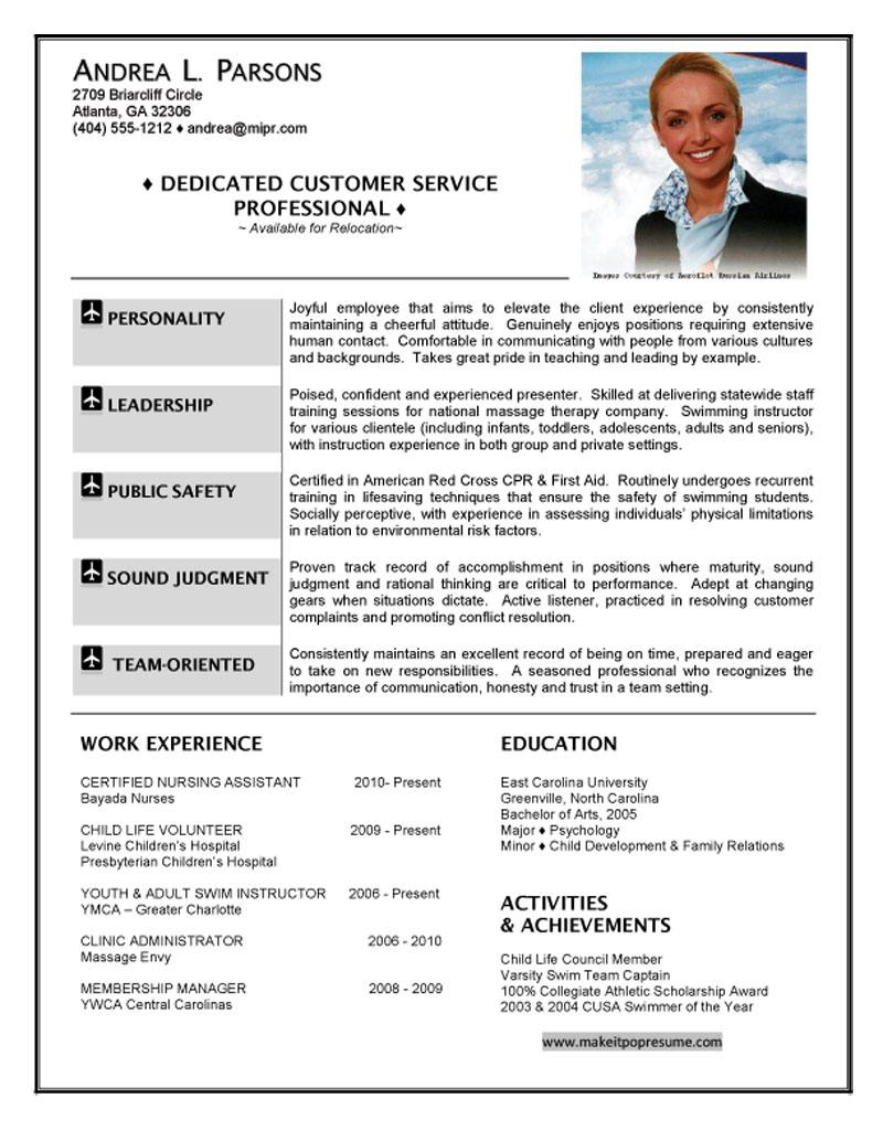 resume examples hostess resume samples with education and skills