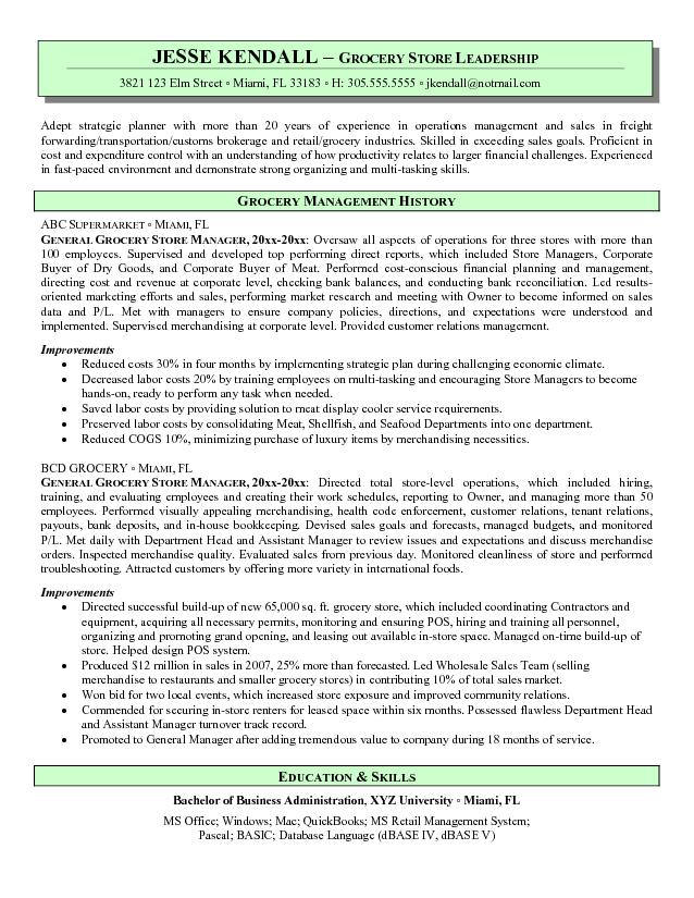 resume for visual merchandising manager