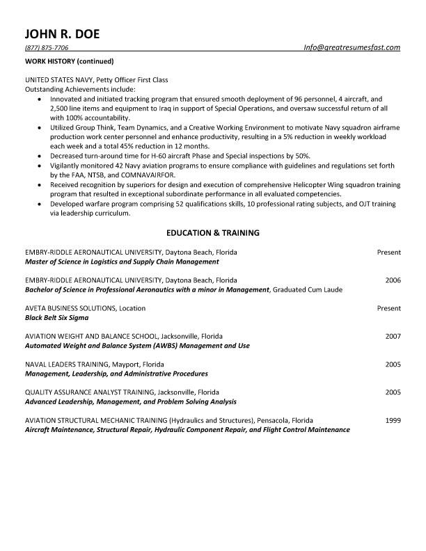 And Quality Control Specialist Resume  Government Contract Specialist Resume