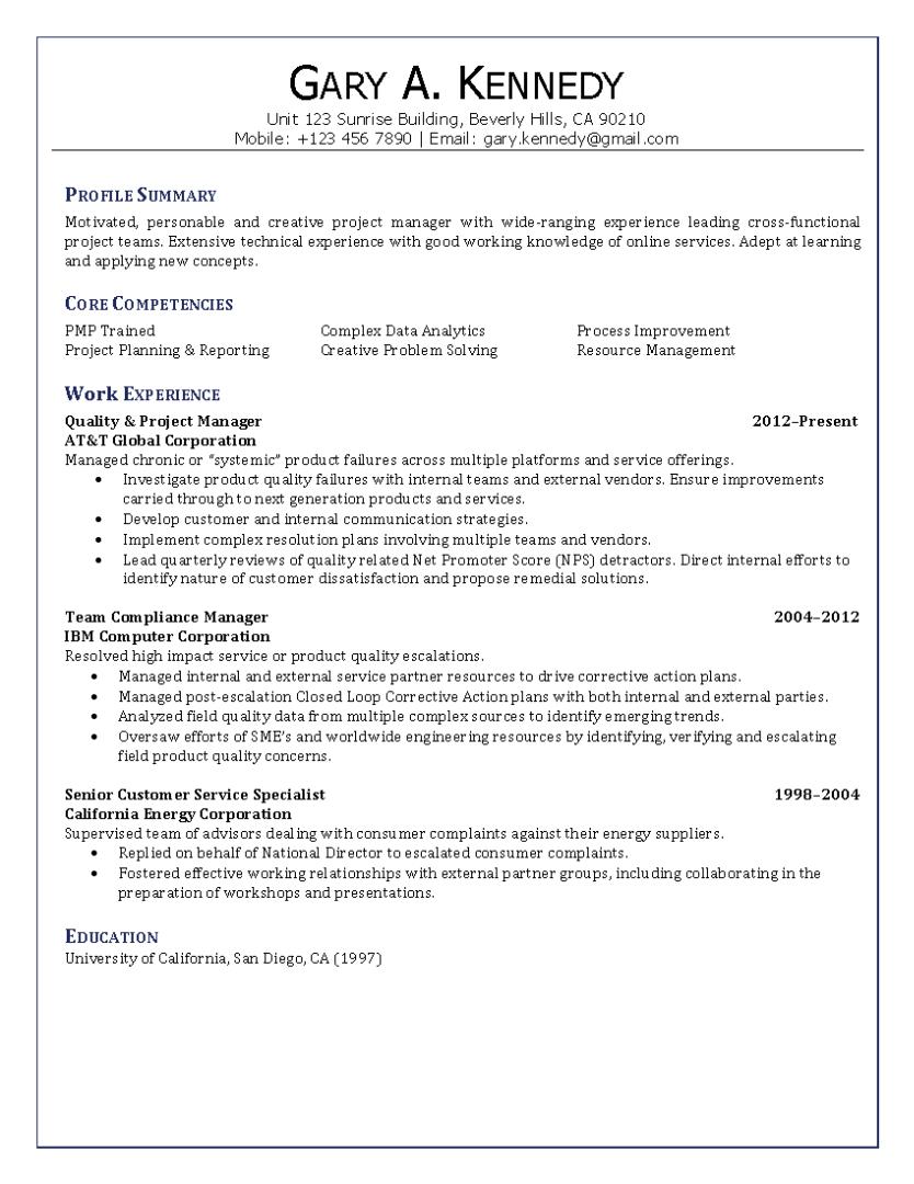 finance manager resume sample provided by elite resume writing