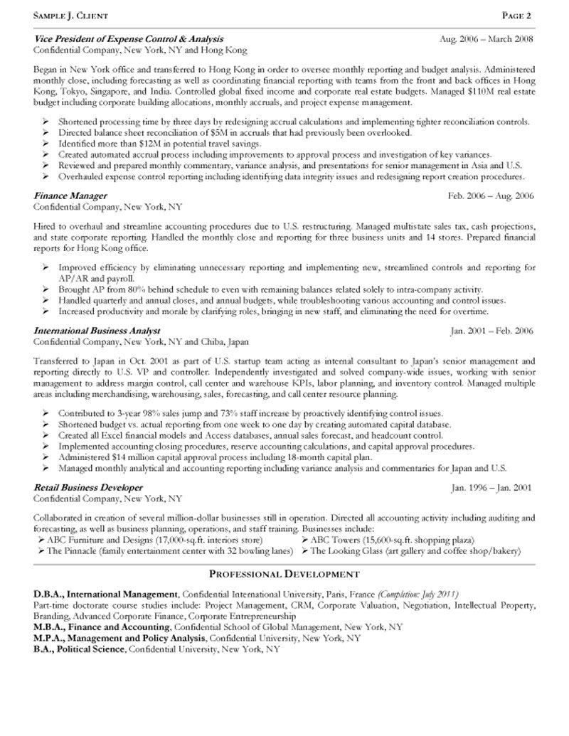 financial resume best financial analyst resume example livecareer