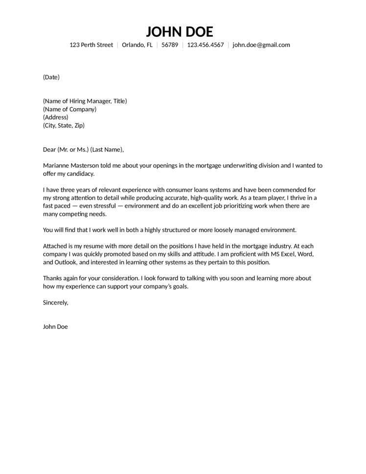 Elegant Cover Letter Sample Professional | Sample Cover Letter