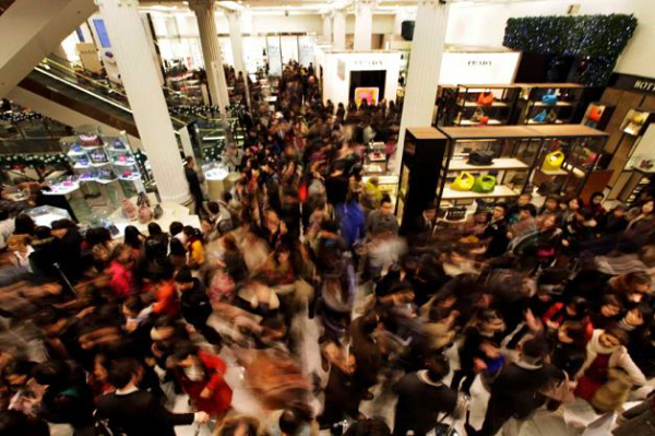 Image result for crowded mall