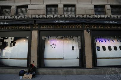 NYC streets homeless