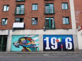 The streets of Dublin, Ireland