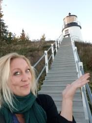 A Maine lighthouse