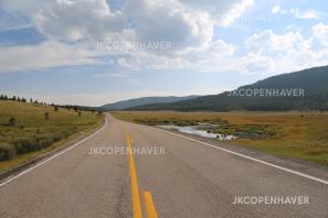 The open road in Colorado