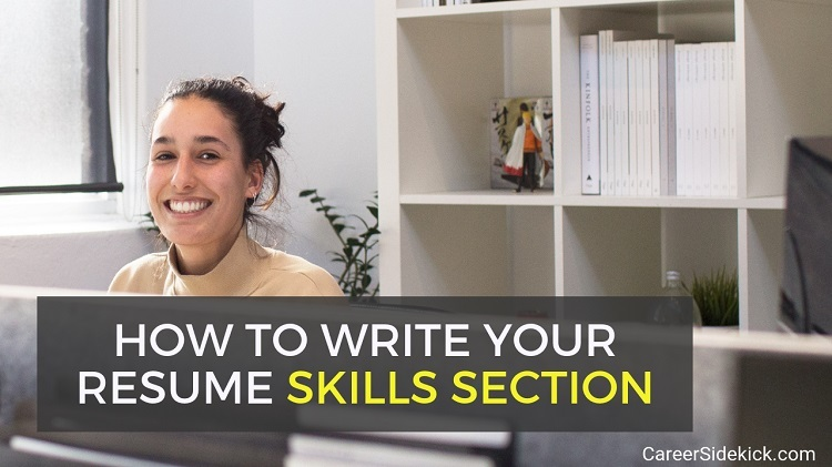 how to write a resume skills section - examples