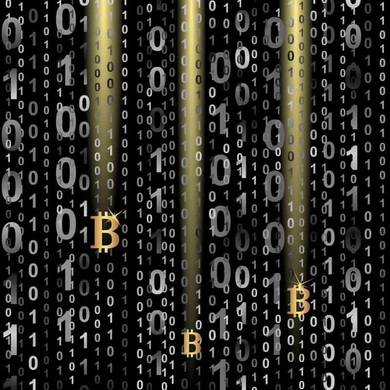 Bitcoin image. National Police checks for the finance sector.