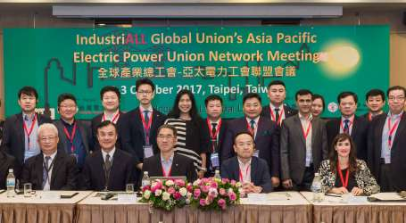 Asia-Pacific electric power unions to push for decent work