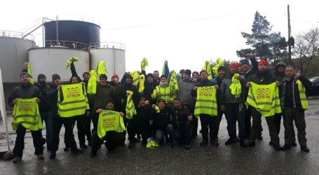 NNN strike ends with recognition and CBA at Norwegian fish processor Norse Production