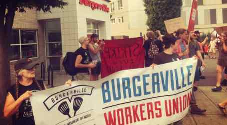Portland, OR: Fast Food Workers at Burgerville Launch Strike on Labor Day