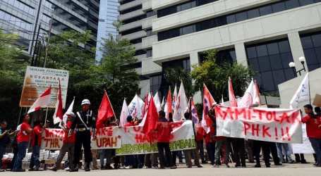 Indonesia: workers fighting for their rights following instant factory closure by pineapple giant GreatGiant Pineapple