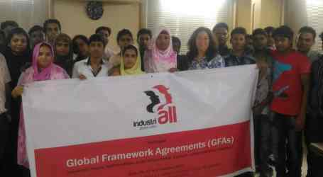 Bangladesh: Garment unions trained for effective implementation of GFAs