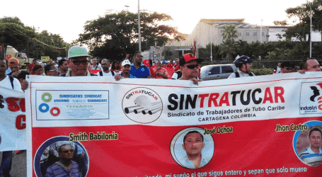 Tenaris attacks workers' rights in Colombia