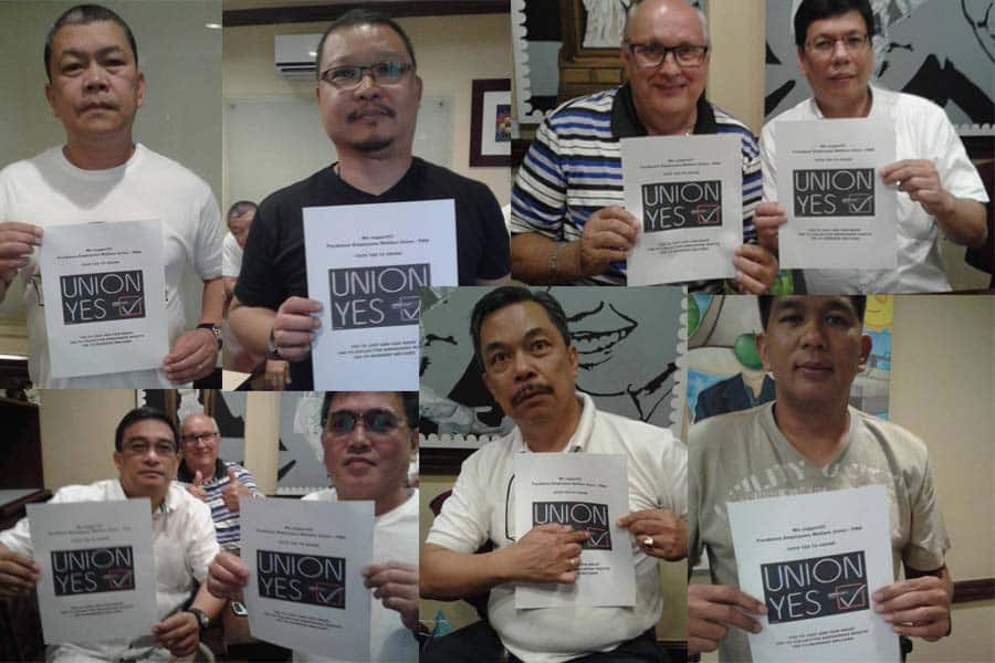 Workers win recognition at Furukawa company in the Philippines