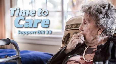 Long-term care workers head to Queen's Park to demand action on care levels for seniors