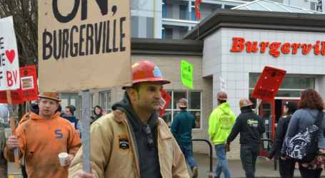 Audio Report: Burgerville Workers Union Finish Three Day Strike