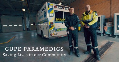 CUPE Paramedics: Saving lives in our community