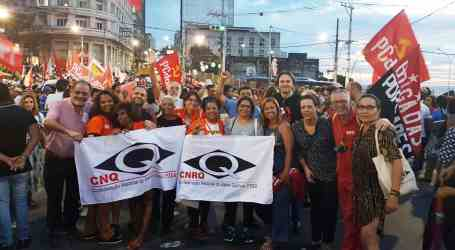 IndustriALL affiliates take part in the World Social Forum