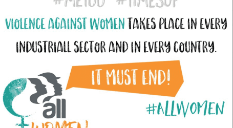 International women's day – unions must act to end violence against women at work