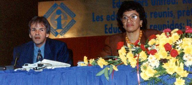 new podcast looks back at 25 years of education internationals history