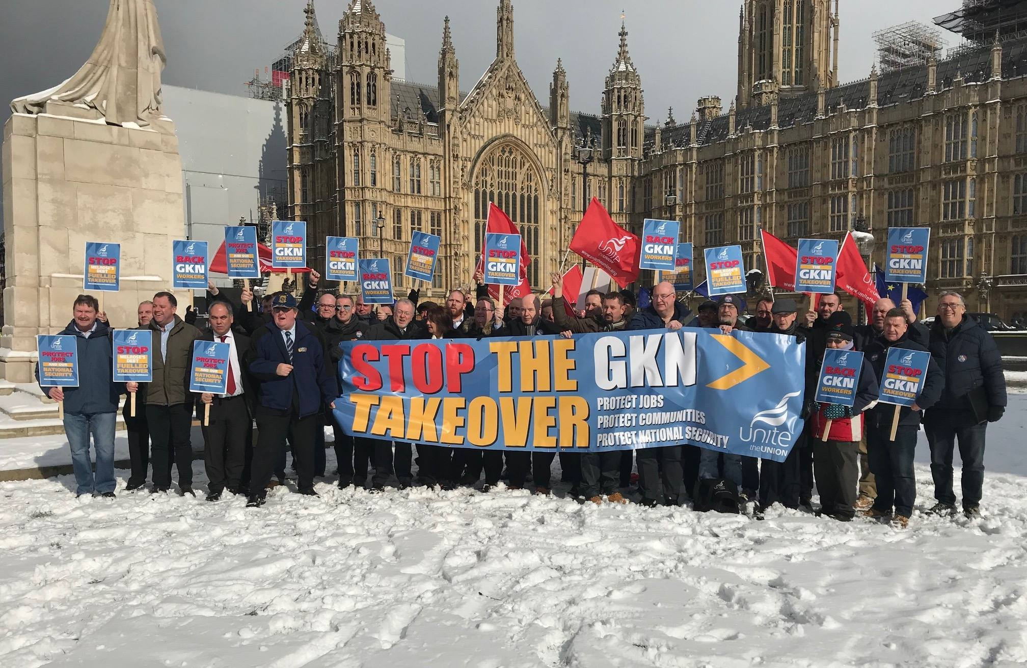 UK: GKN workers urge government to stop debt-fuelled takeover bid