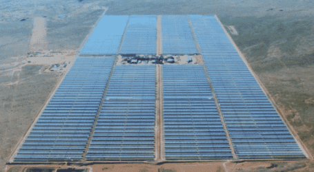 Workers strike at South African solar plant