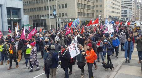 """Liberals and Tories team up in attempt to violate rights of striking York University Instructors showing their 'true colours"""""""