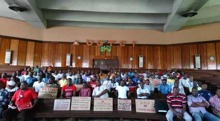 IndustriALL demands respect for workers' rights and permanent jobs in the Ivory Coast