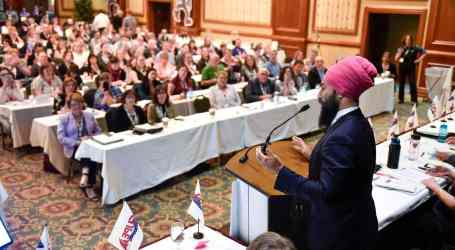NDP leader Jagmeet Singh revs up CUPE NS convention