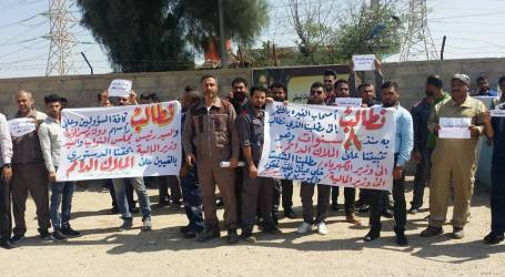 Iraqi electricity workers win inclusion for 150,000 precarious workers