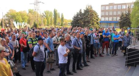Ukraine: ArcelorMittal workers fight for their rights