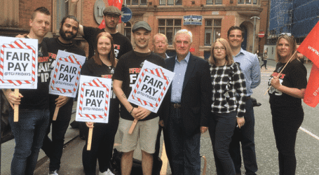Pay revolt continues with third round of strikes at UK TGI Friday's