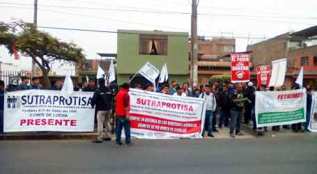 Peru: Workers protest against abuses at Protisa