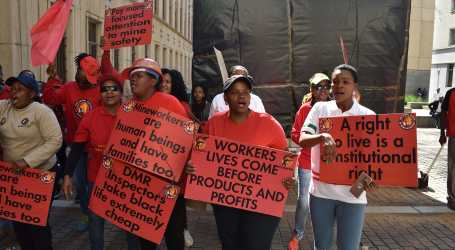 South Africa: Union calls for improved health and safety after four mineworkers are killed at Sibanye Stillwater gold mine
