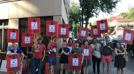 IWW Canvassers On Strike, Nationwide Actions in Support