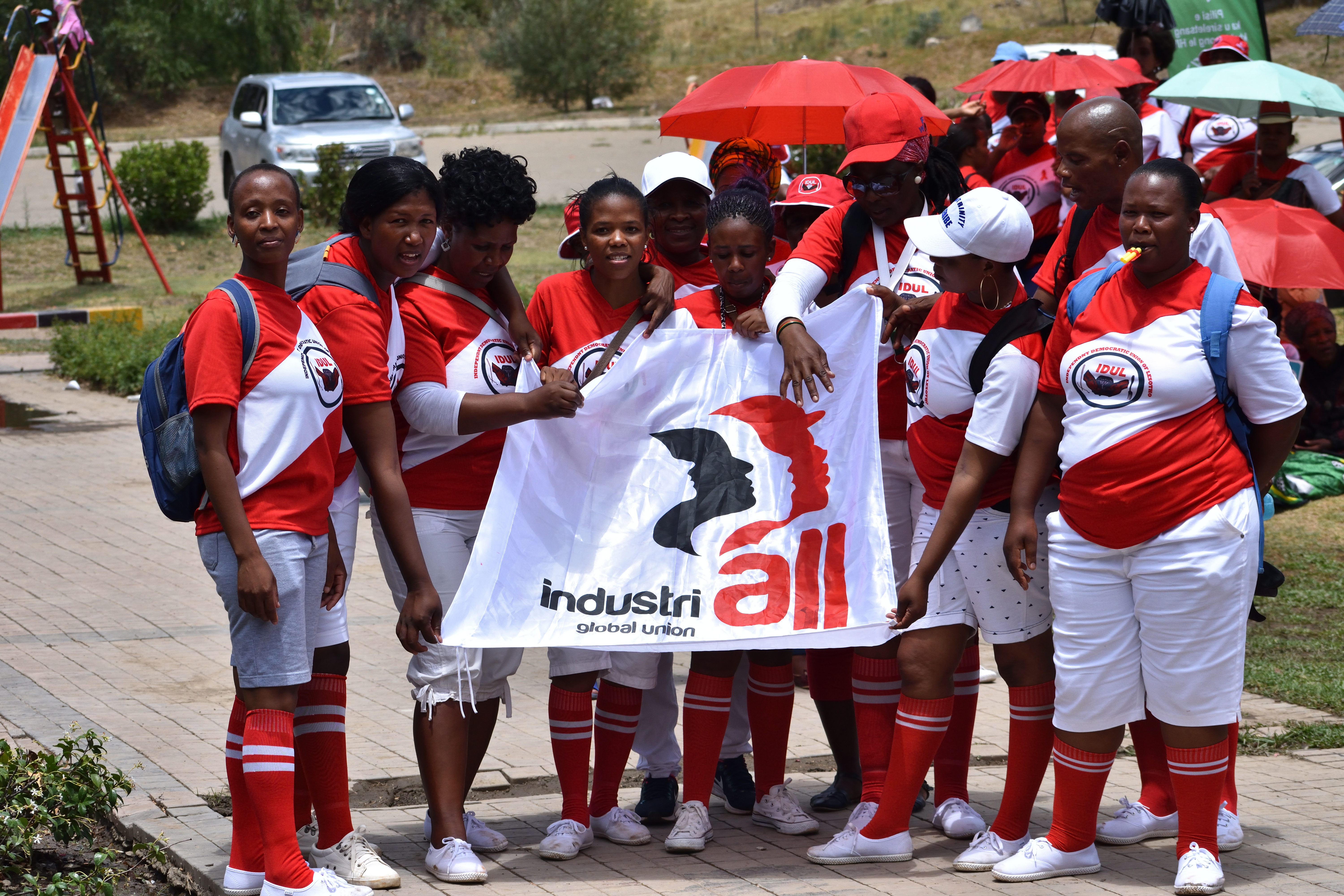 Lesotho union observes AIDS Day