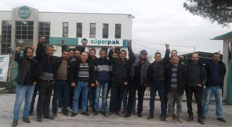 Turkey: 186-day strike at Mayr-Melnhof ends in victory for workers