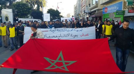"Moroccan unions launch ""Month of Anger"""