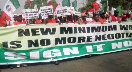 Nigerian unions welcome minimum wage progress